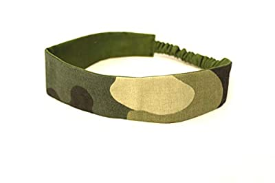 Bandeau femme militaire camouflage