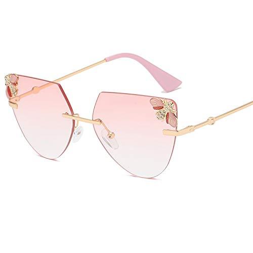Gafas sol sin montura ir playa viaje mujeres - Gafas