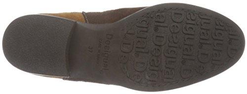 Desigual Damen Navajo Boho Chelsea Boots Braun (Bran 6116)