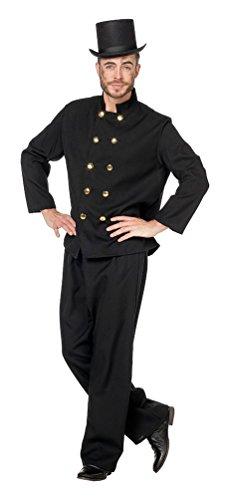 Karneval-Klamotten' Kostüm Schornsteinfeger Herr Kostüm Karneval Beruf Herrenkostüm Größe 50 (Schornsteinfeger Kostüm Herren)