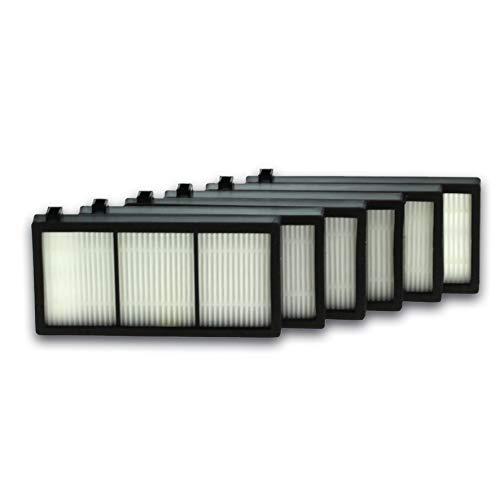 6X Cleanmonster Staubsaugerfilter Luftfilter komp. zu Staubroboter iRobot Roomba der 800er / 900er Serie