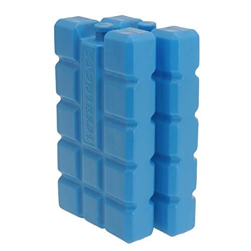 Oramics Kühlakkus Groß und Flach - je Kühlelement 400 ml - Kühlakku für Kühltasche und Kühlbox, Auslaufsichere Kühlpack zum Kühlen von Essen und Getränken (2 Stück)