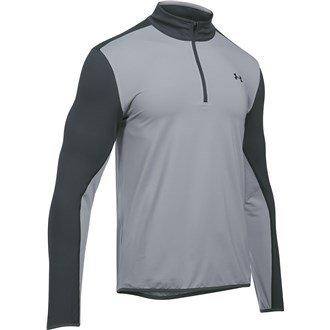Under Armour 2017 Mens EU Midlayer 1/4 Zip Pullover - Overcast Grey - L