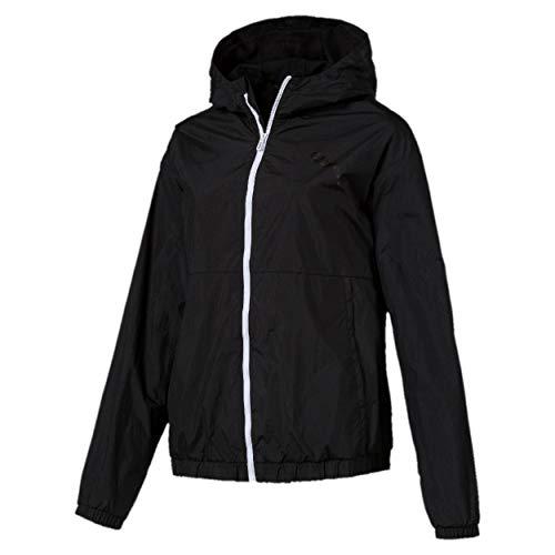 PUMA Damen Bold Wind Jacket Windbreaker, Black, M -