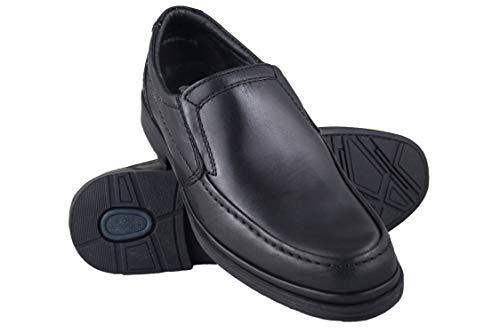 Zerimar Zapatos de Piel Antideslizantes Hostelería Hombre
