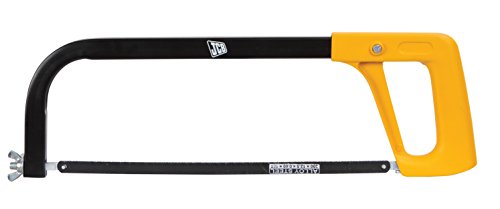 """JCB Tools Hacksaw Frame - Tubular with Die Cast Handle Fitted with 12"""" Chrome Alloy Steel Blade, 22025268"""