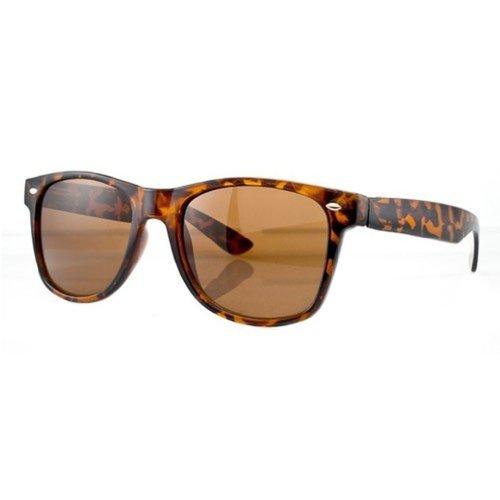 Unisex Herren Damen Sonnenbrille UV-Schutz 400 Schildpatt hochwertige Metallscharniere 3 kaufen get one free