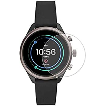 Gear Guard Screen Protector for Fossil Sport Smartwatch 43 mm (Transparent) - Pack of 2
