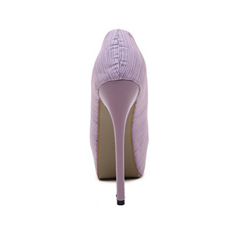 Unknown 1to9mmsg00064 - Ballerines Pour Femmes Violettes