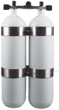 Cilindro euro Botellas de acero doble 7 Litro DIR Style