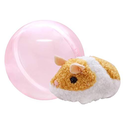 Yissma Lustiges Elektrischer Hamster Spielzeug Elektrische Plüschtier Spielzeug Rolling Hamster Ball Kinder Spielzeug Geschenk Ornament (Ball Größe Hamster Kind)