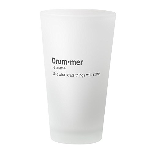 Drummer Definition - Pint Glass, 16 oz. Drinking Glass