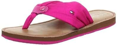 Tommy Hilfiger Women's Monica 6 C Bright Pink Flip Flops FW56815524 3.5 UK, 36 EU