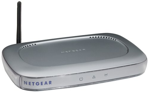 Wireless-ethernet-bridge (NETGEAR WGE101GR Wireless Ethernet Bridge 802.11g, 54Mbit)
