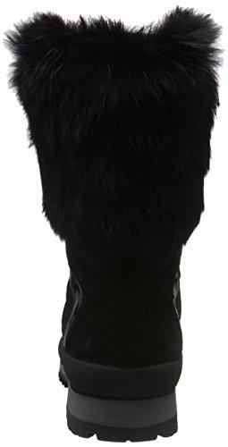 Bogner St. Anton L3c, Bottes mi-hauteur avec doublure chaude femme Noir - Noir (01)