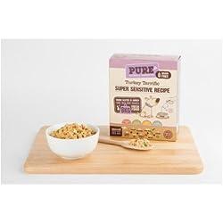 Netzteil für Hunde 'Pure' Turkey 6Stück (Truthahn) 500g Nahrung natürlich dehydriert