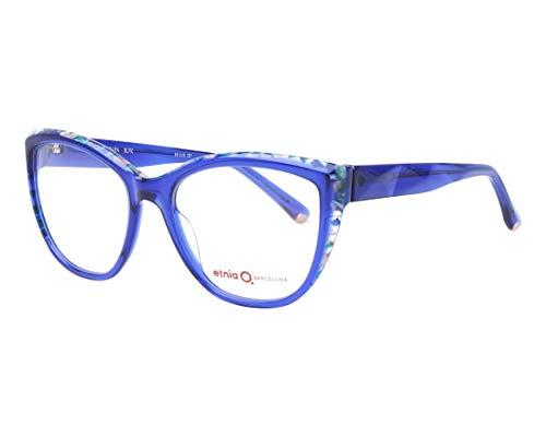 Etnia Barcelona Brille (FERRARA BLPK) Acetate Kunststoff kristall blau - mix marmor