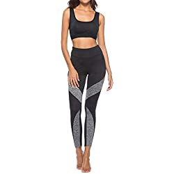 Yoga Pantalones Mujer Deportivas Trousers Boho Festival Hippy Leggins Polainas para Mujer EláSticos Pilates Fitness De La Vendimia del Estilo Estampado de Pavo Empalmado Pantalones