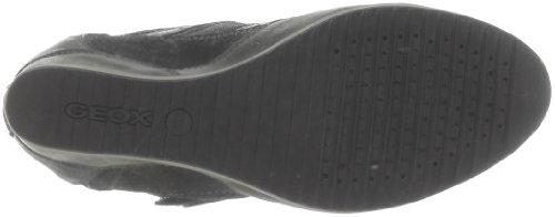 Geox D Illusion G, Damen Sneaker Schwarz - Noir (Black)