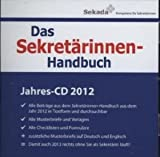 Das Sekretärinnen-Handbuch - Jahres-CD 2012, CD-ROM Alle Beiträge aus dem