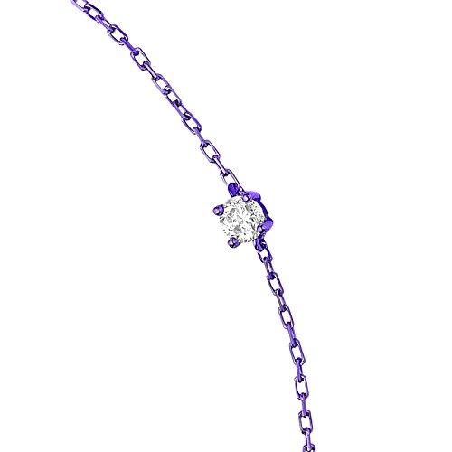 AS29           FINENECKLACEBRACELETANKLET violet