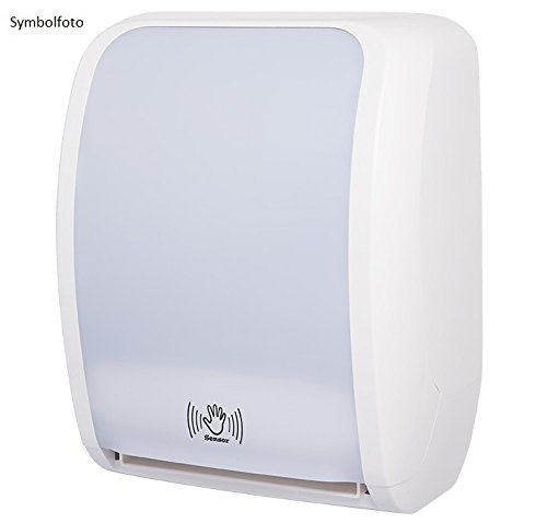 Metzger COSMOS abschließbarer Papierrollenspender aus ABS Kunststoff mit Sensor