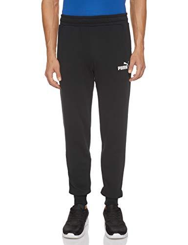 Puma Herren ESS Logo Pants TR cl Hose, Black, M