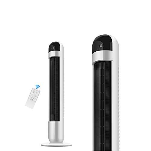 Liziyu Turmventilator mit Fernbedienung und Oszilation | Ventilator 79° neigbar | 115 cm | 40W | Ventilator mit 3 Geschwindigkeitsstufen + 12 Timer + 3 Betriebsmodi + 60° oszillierend | weiß