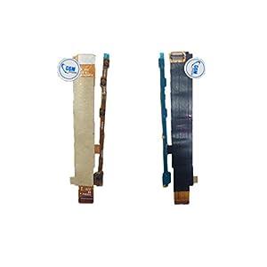Power Flex Volume Mute Button Kabel Laut Leiser An Aus Schalter für Sony Xperia M C1905 # itreu