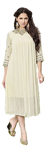 Deeps Creation Women Heavy Georgette Designer Kurtis