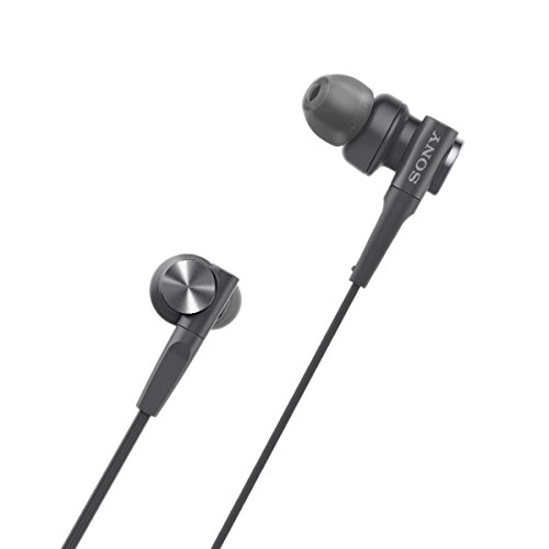 Sony MDR-XB55 Extra-Bass in-Ear Headphones Without Mic(Black) Image 5