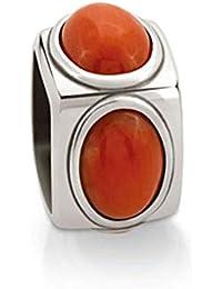 Nomination Damen-Bead Cubiamo 925 Silber Koralle - 163302/005