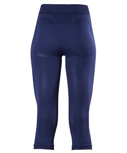 FALKE Damen Warm 3/4 Tights Women Sportunterwäsche dark night