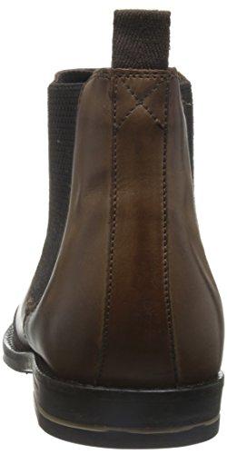 Base London Uomo Boots In Pelle Base London Boxley Marrone chiaro