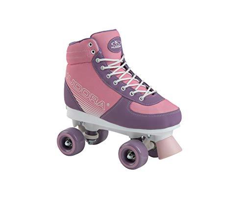 HUDORA Kinder & Jugendliche Roller Skates Advanced, Pink Blush, Gr. 31-34,