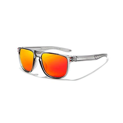Sportbrillen, Angeln Golfbrille,New Style Men's Sun Glasses Brand Polarisiert Sunglasses Men Classic Design Driving Mirror Sunglasses Male Eyewear C6