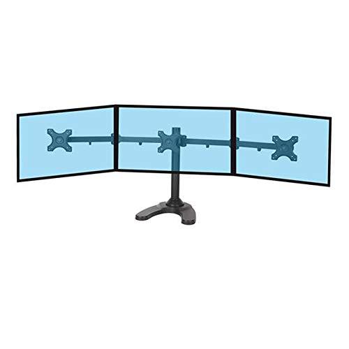 KIMEX 015-1253 Support de bureau pour 3 écrans PC 13''-24''