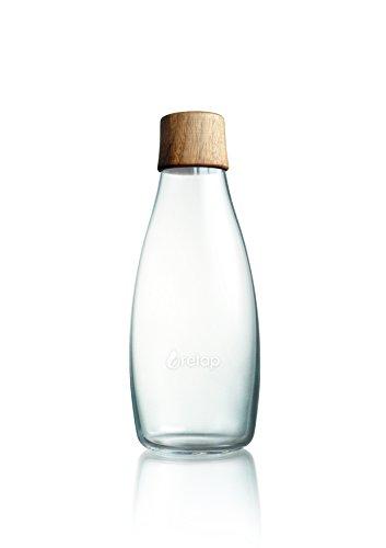 Retap Flasche 0,5l Holzdeckel