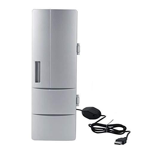 TYZXR Mini Refrigerador PortáTil USB, EléCtrica Caja Fresca, Caja Caliente, para Viajes...