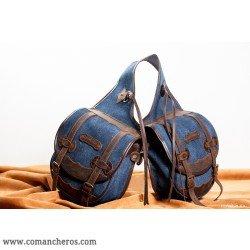 comancheros-bisacce d'équitation, besace cheval pour selle Western Jeans