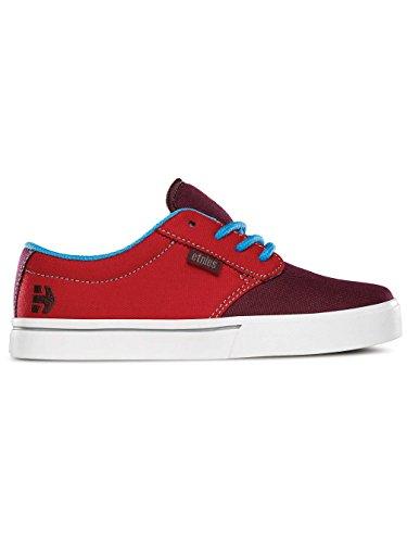 Etnies Kids Jameson 2 Eco, Chaussures de Skateboard mixte enfant Red White Blue Eco