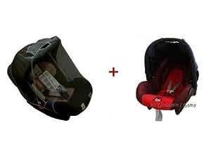 sonnenverdeck plus m ckennetz moskitonetz f r babyschale z b maxi cosi chicco r mer amazon. Black Bedroom Furniture Sets. Home Design Ideas