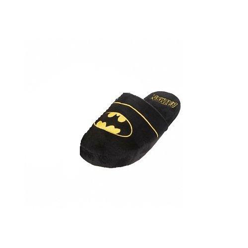 Batman Logo Hausschuhe schwarz one Size