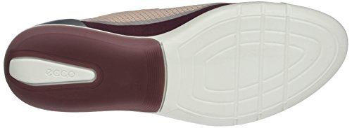 Ecco Sense Light, Baskets Basse Donna Rot (50550bordeaux / Rose Dust-bord./bordeaux)