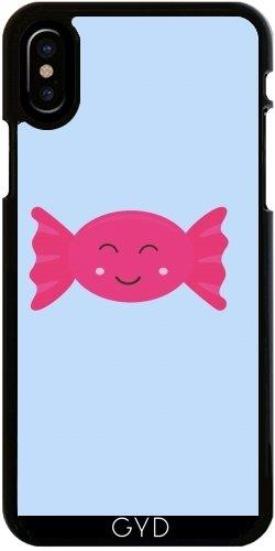 (Hülle für Iphone X - Pink Candy Bonbon Mit by ilovecotton)