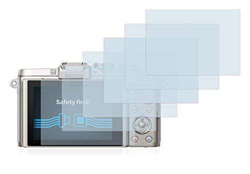 Savvies Protector de Pantalla Compatible con Nikon D5500 Transparente 6 Unidades