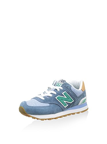 New Balance ML574, Baskets Basses Homme Blau