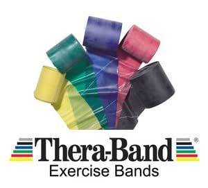 Thera-Band Ultra Advanced Set 3 Pack 1.5 Metres (Blue/Black/Gold)