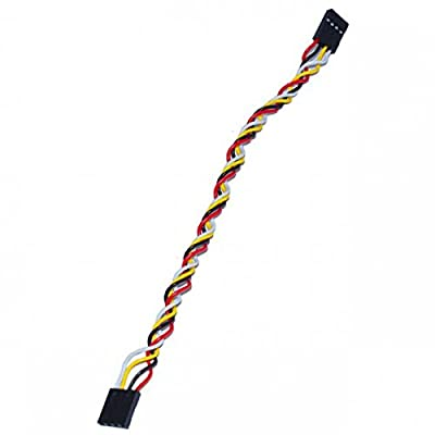 Magideal 5pcs PVC 4-Pin Dupont Cable Jumper Wire for Arduino Breadboard