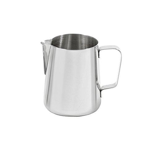 Luxpresso Milchkännchen/Messkanne/Messbecher aus Edelstahl - 350 ml
